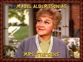 Mabel Albertson as Mrs. Stephens
