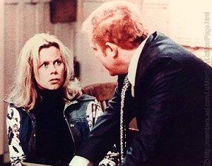 Liz with police